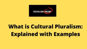 What is Cultural Pluralism