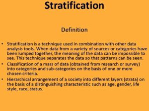 social stratification theories