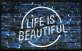 life is beautiful and life needs contentment heart