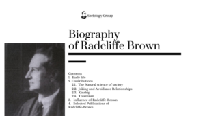 Radcliffe-Brown-Biography-Contributions
